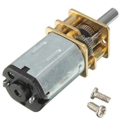 30010020030rpm Mini Dc Metal Gear Motor W Gearwheel Shaft Diameter N20 Model