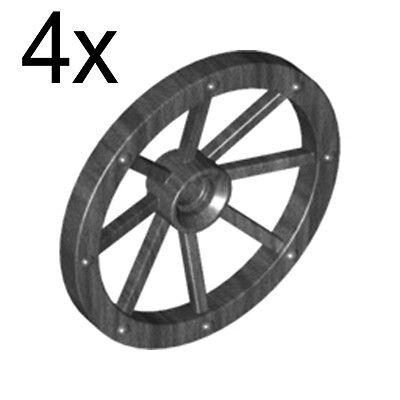 x 15mm Technic 60208 4511007 Lego 2x Light Bluish Gray Wheel 31mm D