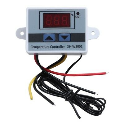 220v Digital Led Temperature Controller 10a Thermostat Control Switch Probe M3s4