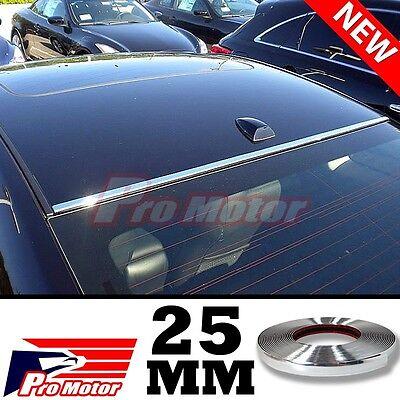 25mm Chrome Molding Trim Exterior Guard Lower Window Side Strip Roof Sill Lexus