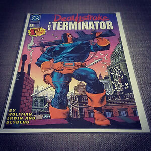 Deathstroke The Terminator issue #1