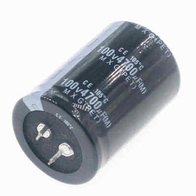 1pcs 4700uf 100v 4700mfd 100volt 105c aluminum electrolytic capacitor 35×50mm 100v Aluminum Electrolytic Capacitor