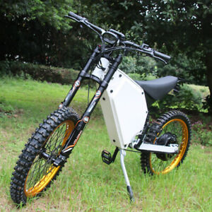 New 8000w electric motorcycle / mountain bike only 62kg