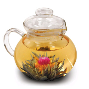 Flowering Tea Pot with Candle Warmer