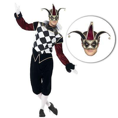 ntage Halbschuhe Harlekin Hofnarr Halloween Kostüm + (Halloween Kostüm Schuhe)