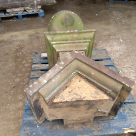 Reclaimed Stone Gate posts.