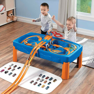 Step 2® Hot Wheels™ Car and Track Play Table New in Box