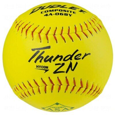 """Dudley Hycon Composite 52/300 Core 12"""" Slowpitch Softball 4A068Y"""