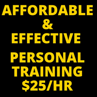 Experienced Personal Trainer and Coach