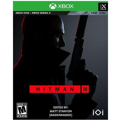 HITMAN 3 Xbox Series X|S Xbox One Game Leggere descrizione (Read description)