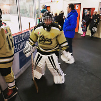 Peewee goalie looking for ice time