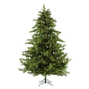 12 Feet Tall Pre-lit LED Foxtail Pine Artificial Christmas Tree