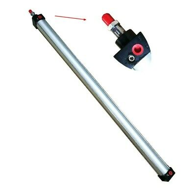 Pneumatic Air Cylinder 800mm Stroke 40mm Bore Aluminum Alloy Double Acting