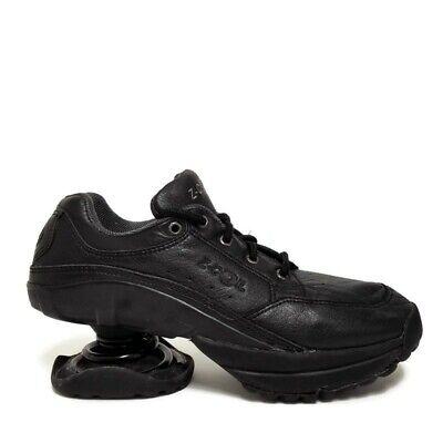 Z Coil Legend Black Leather Athletic Orthopedic Comfort Pain Relief Shoes Sz 8