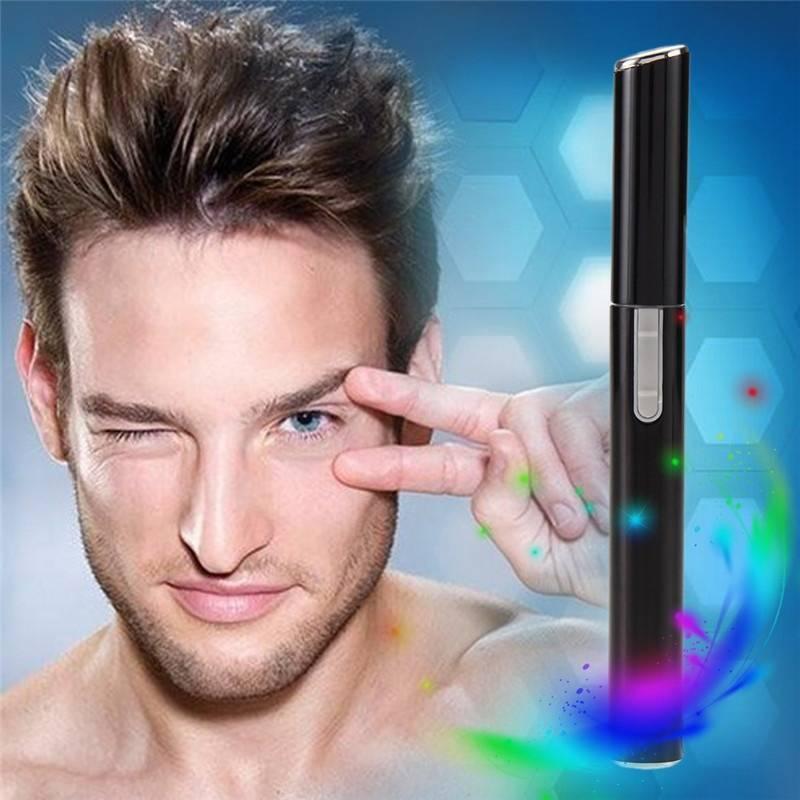 Men Electric Face Hair Body Nose Blade Razor Remover Eyebrow