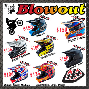 Dirt bike Helmets Troy Lee Designs **See Our Other Ads**