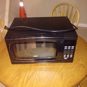 Black RCA MIcrowave - Good condition, works great $20 OBO