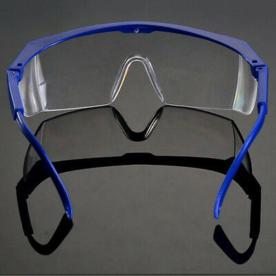 Eyewear Clear Safety Eye Protective Goggles Glasses Anti-fog Best New Pl