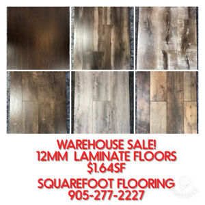 LAMINATE FLOORING 12MM CLEARANCE SALE - Squarefoot Flooring