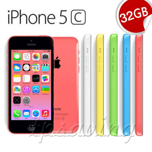 Apple iPhone 5c 16GB/32GB Smartphone (Factory Unlocked) - 12 Month Warranty