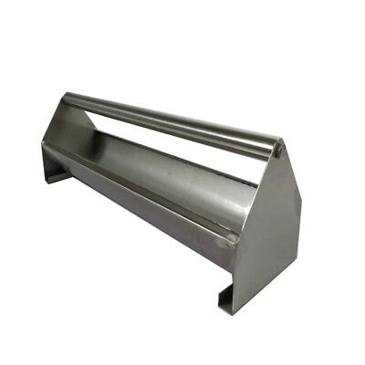 Stainless Steel Chicken Feed Trough Poultry Diet Tool Pigeon Feeder Length 40cm