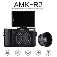Amkov 24mp Hd 1080p Fotocamere Digitali 180 Girevole Lato Rilevamento + -  - ebay.it