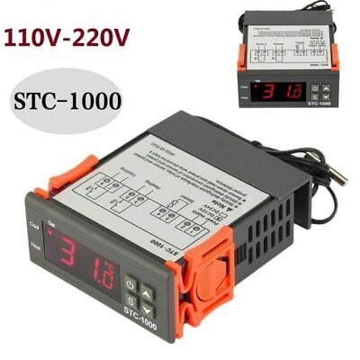 Universal STC-1000 Digital Temperature Controller Thermostat with Sensor AC 110V