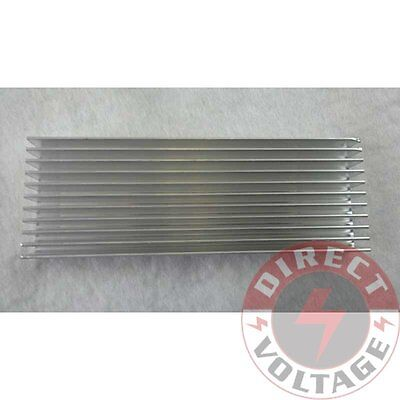 1pc 1003510mm Silver Aluminum Heat Sink For Led And Power Ic Transistor