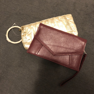 2 *BRAND NEW* Clutch Purses.