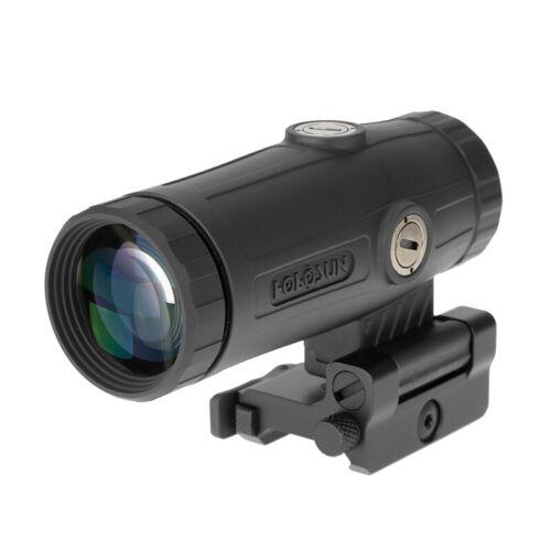 HOLOSUN HM3X 3X Flip to Side Magnifier, Black