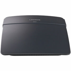 Linksys N300 Wi-Fi Wireless Router (E900) •	Up to 300Mbps