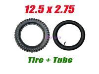Mx400 Dirt Bike Rocket 12.5 X 2.75 New Tire 12 1//2 X 2.75 for Razor Mx350