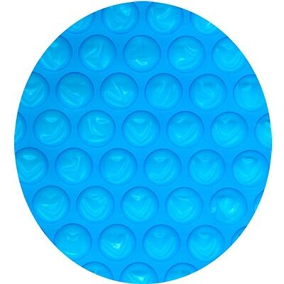 Midwest Canvas 24 Ft  Above Ground Pool  Heavy Solar Cover Blue   Clear Round