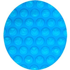 Midwest Canvas 24 ft. Above Ground Pool, Heavy Solar Cover Blue / Clear Round