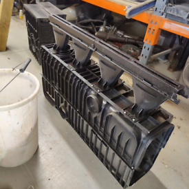 Industrial ACO drain with sump unit