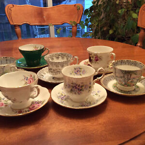 Royal Albert, Paragon, Queen Anne, Made in England Cup & Saucers London Ontario image 3