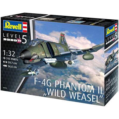 """Revell F-4G Phantom II """"Wild Weasel"""" (Scale 1:32) Model Kit 04959 NEW"""