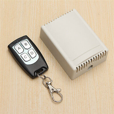 DC 12V 10A RELAY 1/2/3/4 CH Wireless Remote Control Switch Transmitter  !