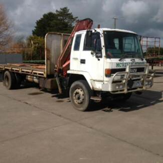 1994 Isuzu 900 4x2 Ridgid Crane Truck Timboon Corangamite Area Preview