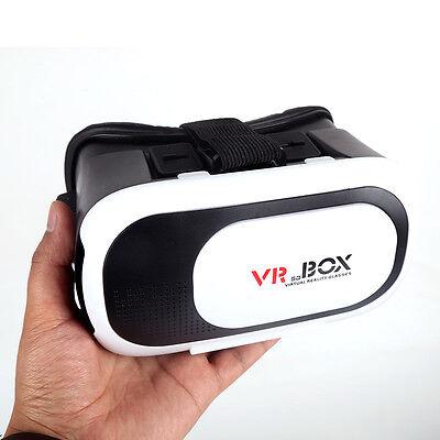 New 1pcs 3D Glasses VR Box Headset Google Cardboard Virtual Reality Hot