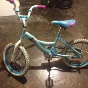 bicyclette pour fille 5-8 ans, bicycle for girl 5-8 years FROZEN