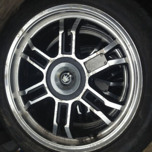 4bolt 17 inch wheels with tires