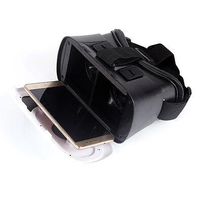 New VR Headset Virtual Reality VR BOX Goggles 3D Glasses Google Cardboard Remote