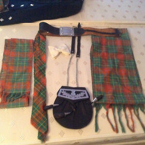 Full Scottish Kilt,Jacket and Accessories Peterborough Peterborough Area image 4