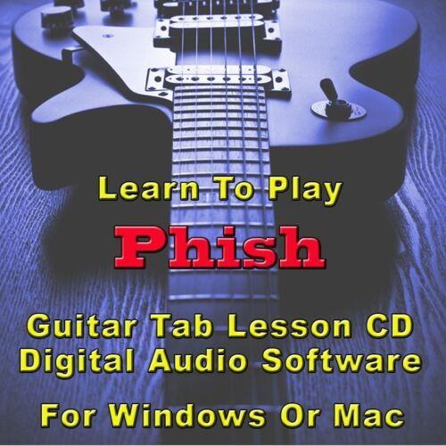 PHISH Guitar Tab Lesson CD Software - 14 Songs | eBay