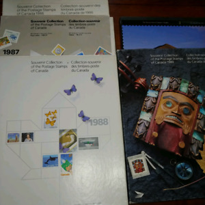 Canadian stamp year box sets