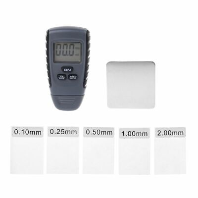 Rm660 Digital Car Paint Coating Thickness Gauge Tester Auto Meter 0-1.25 Mm