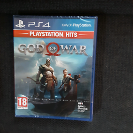 God of War Ps4 Brand New & Sealed