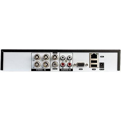 IP Kamera Set: Profi-Überwachungssystem mit HDD-Recorder & 4 IR-Kameras