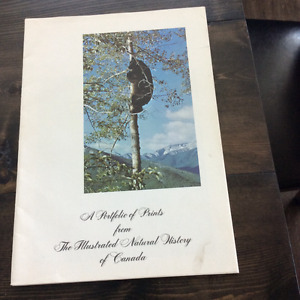 Portfolio prints from The Illustrated Natural History of Canada